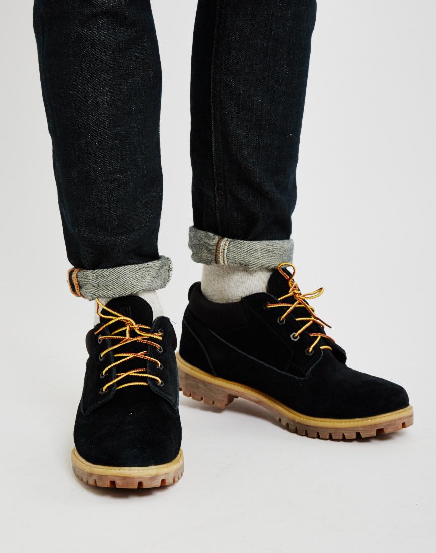Timberland Classic Wp Oxford Black in Black for Men