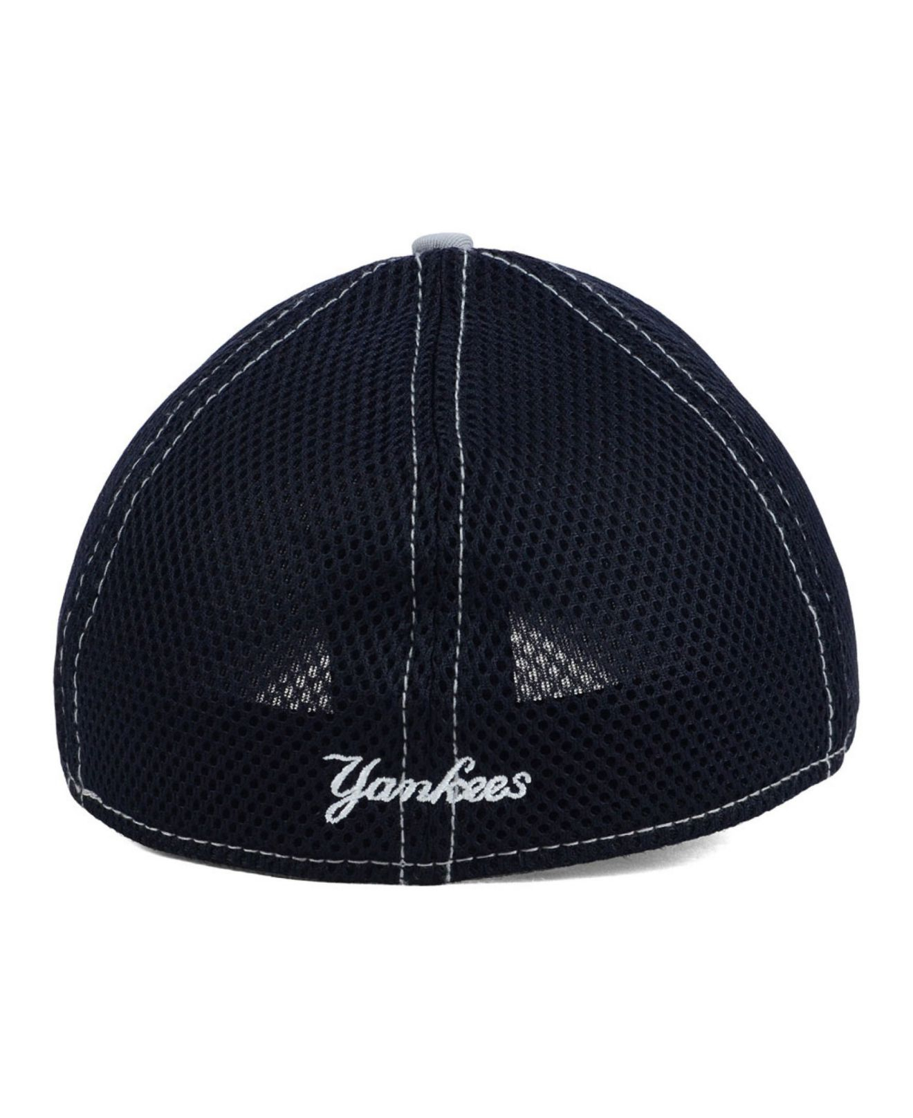 183b121e54d03f ... new style lyst ktz new york yankees neo 39thirty cap in blue for men  eddac b15d3