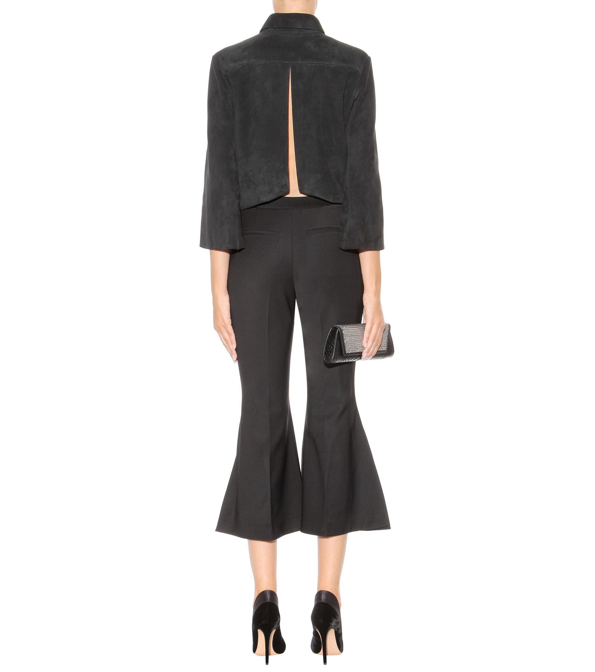 cropped flared trousers - Black Ellery Bk4ngExzd