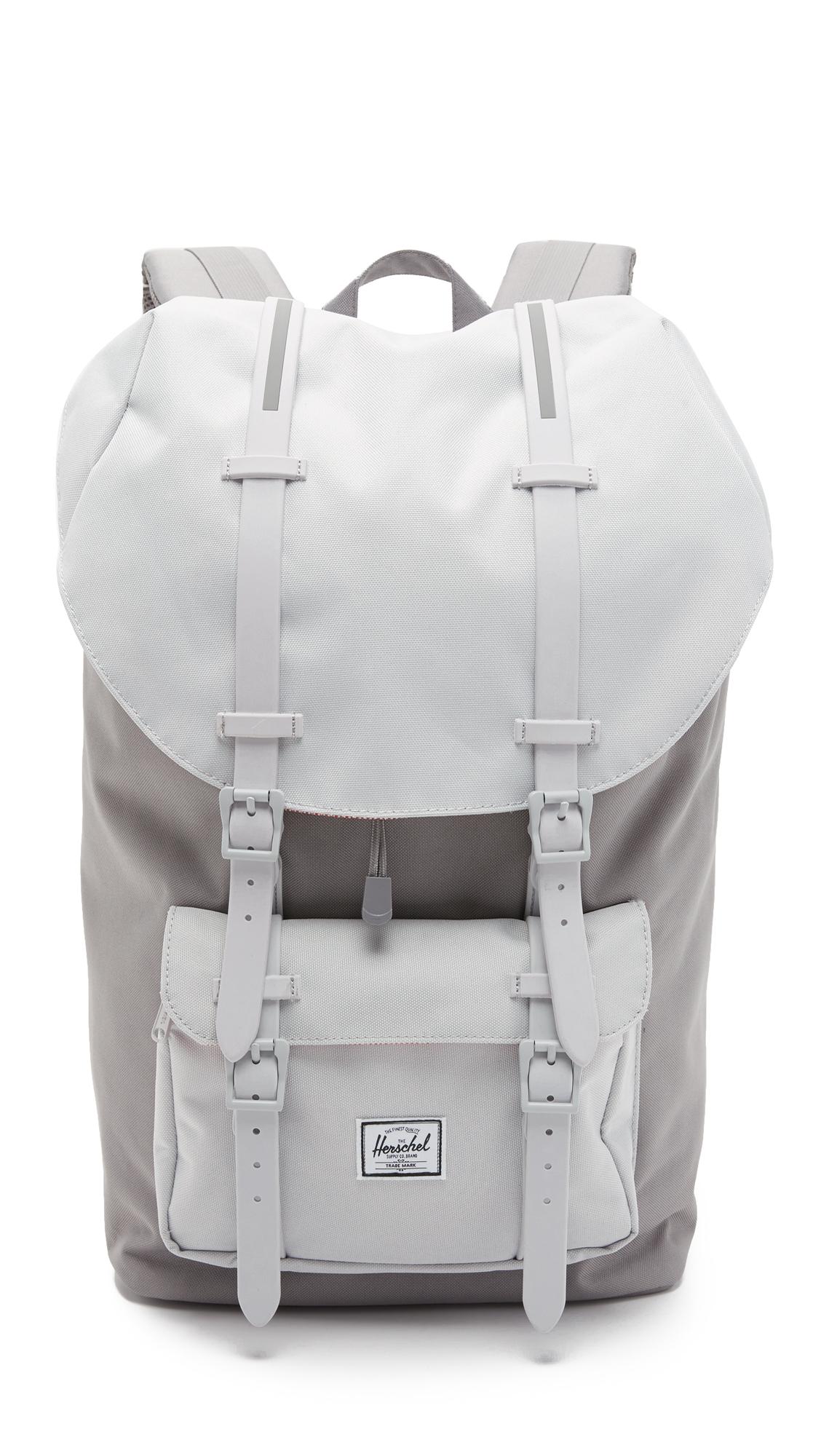 Herschel Supply Co. Little America Backpack in Gray for Men - Lyst f4158e16938d0