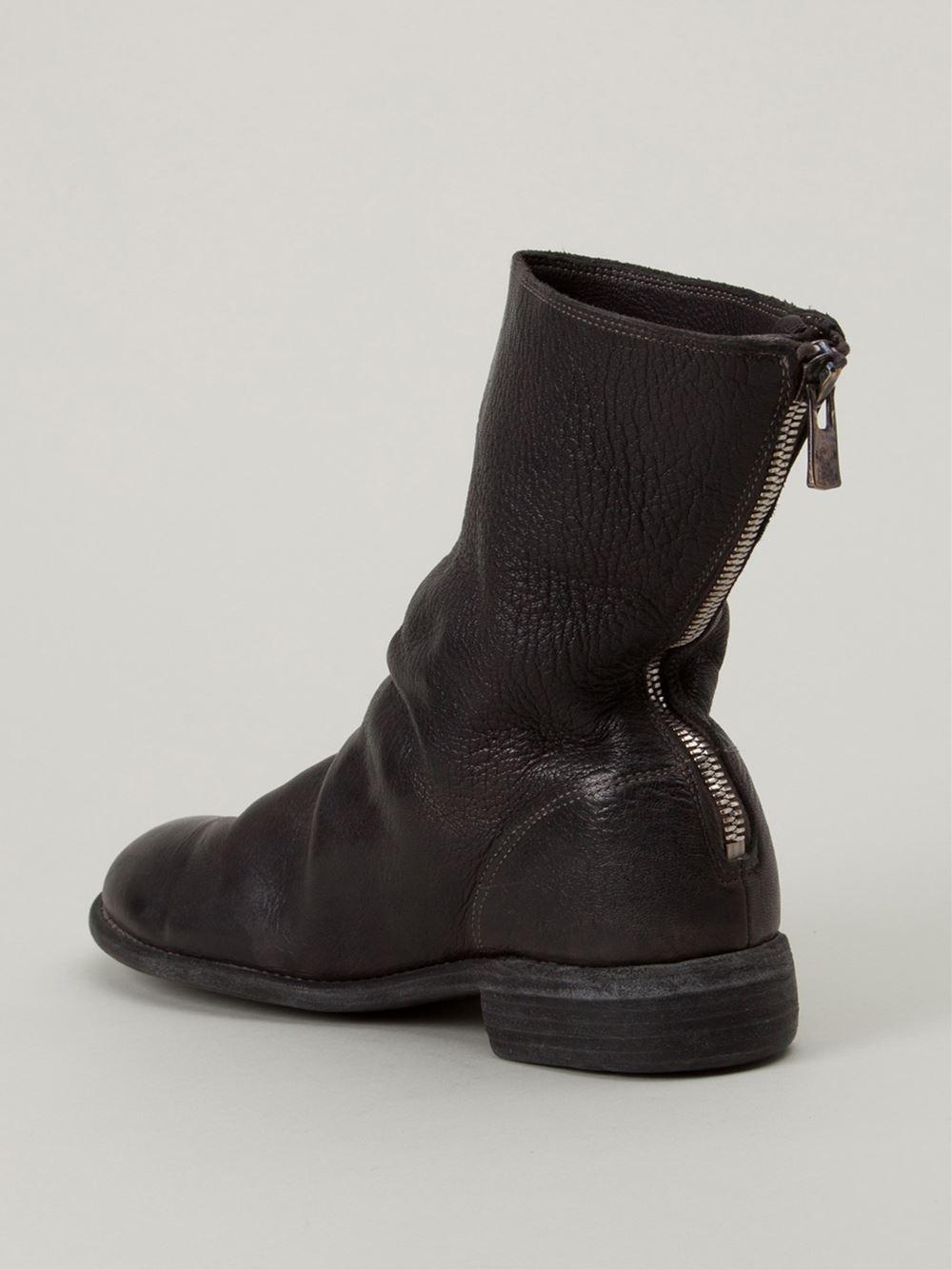 GUIDI Rear zip boots sam. Prix Flambant Neuf Unisexe Pas Cher Sortie Profiter Acheter Pas Cher 2018 Plus Récent tQDw7iHSsD