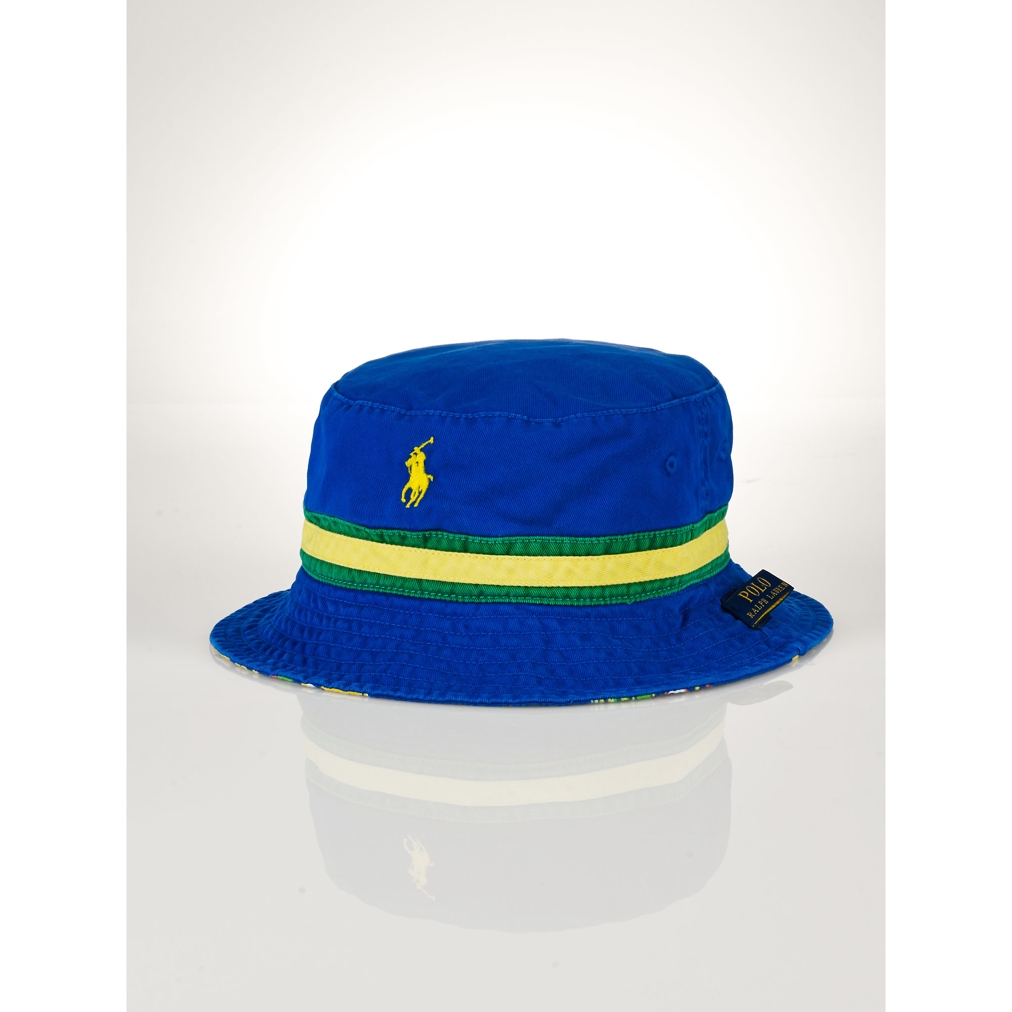 nike los angeles dodgers vapor dri fit bucket hat in blue for men; nike hat  bucket ralph lauren