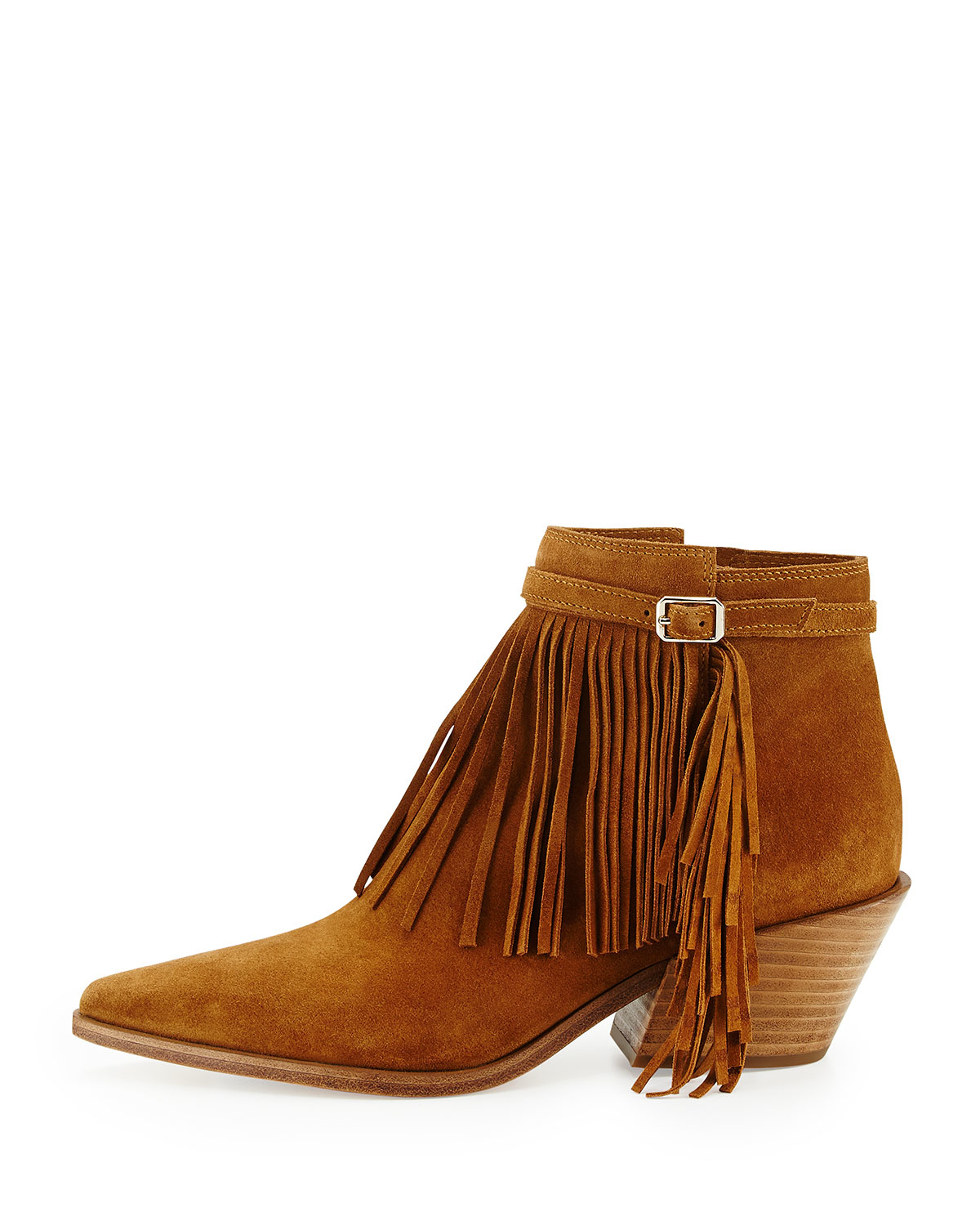 Get the must-have boots of this season! These Christian Louboutin Black Ottocarl Suede Fringe Heel Boots/Booties Size EU (Approx. US ) Regular (M, B) are a top 10 member favorite on Tradesy.