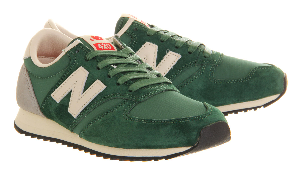 Lyst New Balance U420 In Green For Men