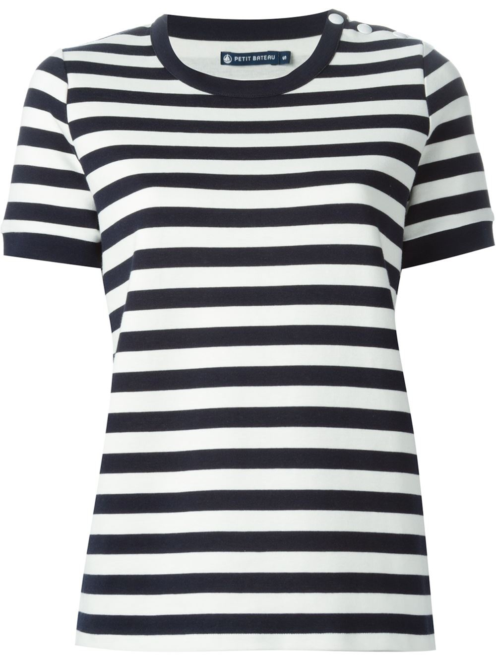 petit bateau striped t shirt in blue lyst