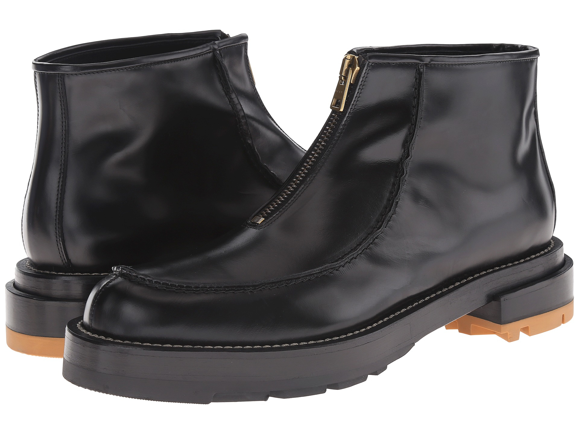 Marni Zip-up Ankle Boot in Black for Men | Lyst