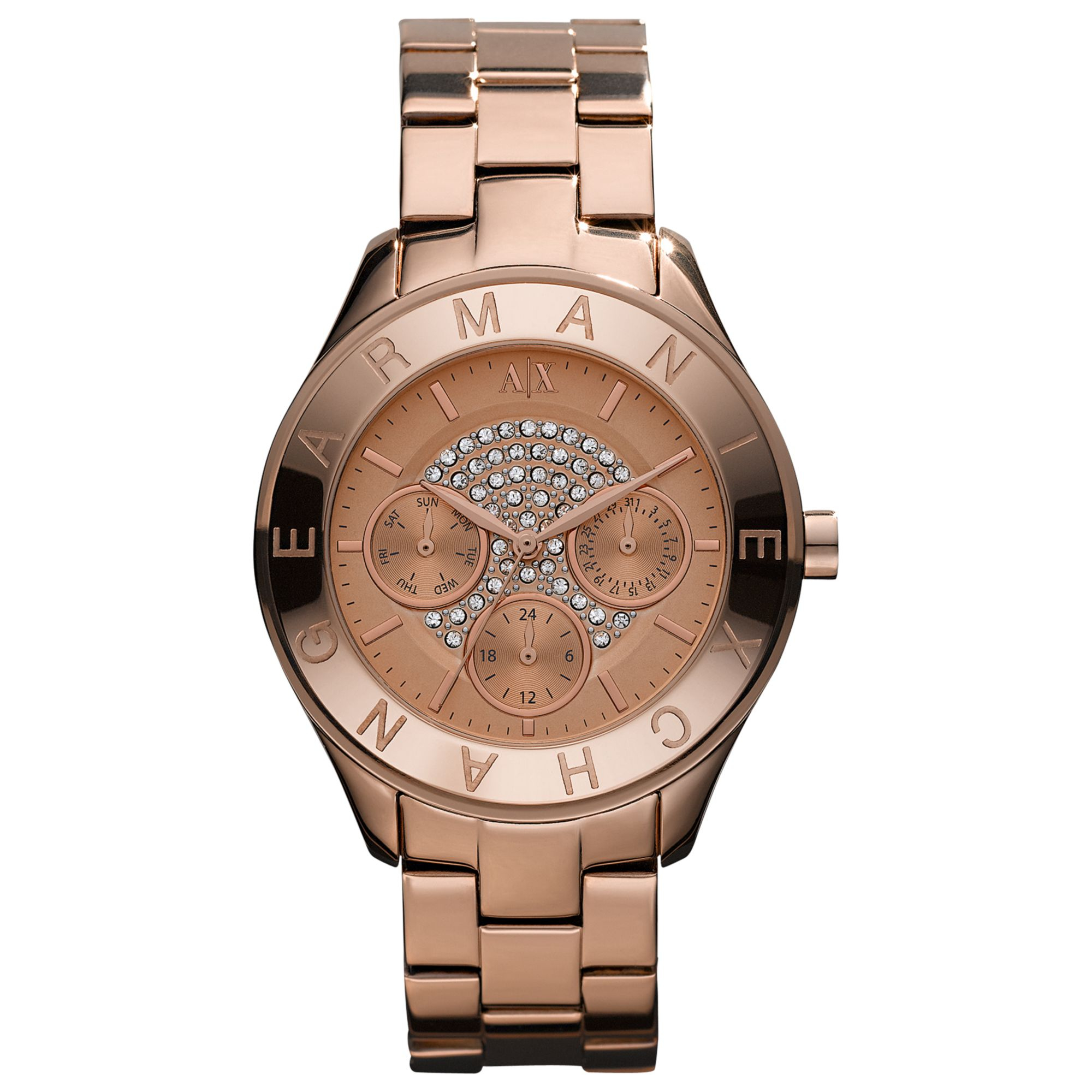 Look - Exchange Armani watches for women gold pictures video