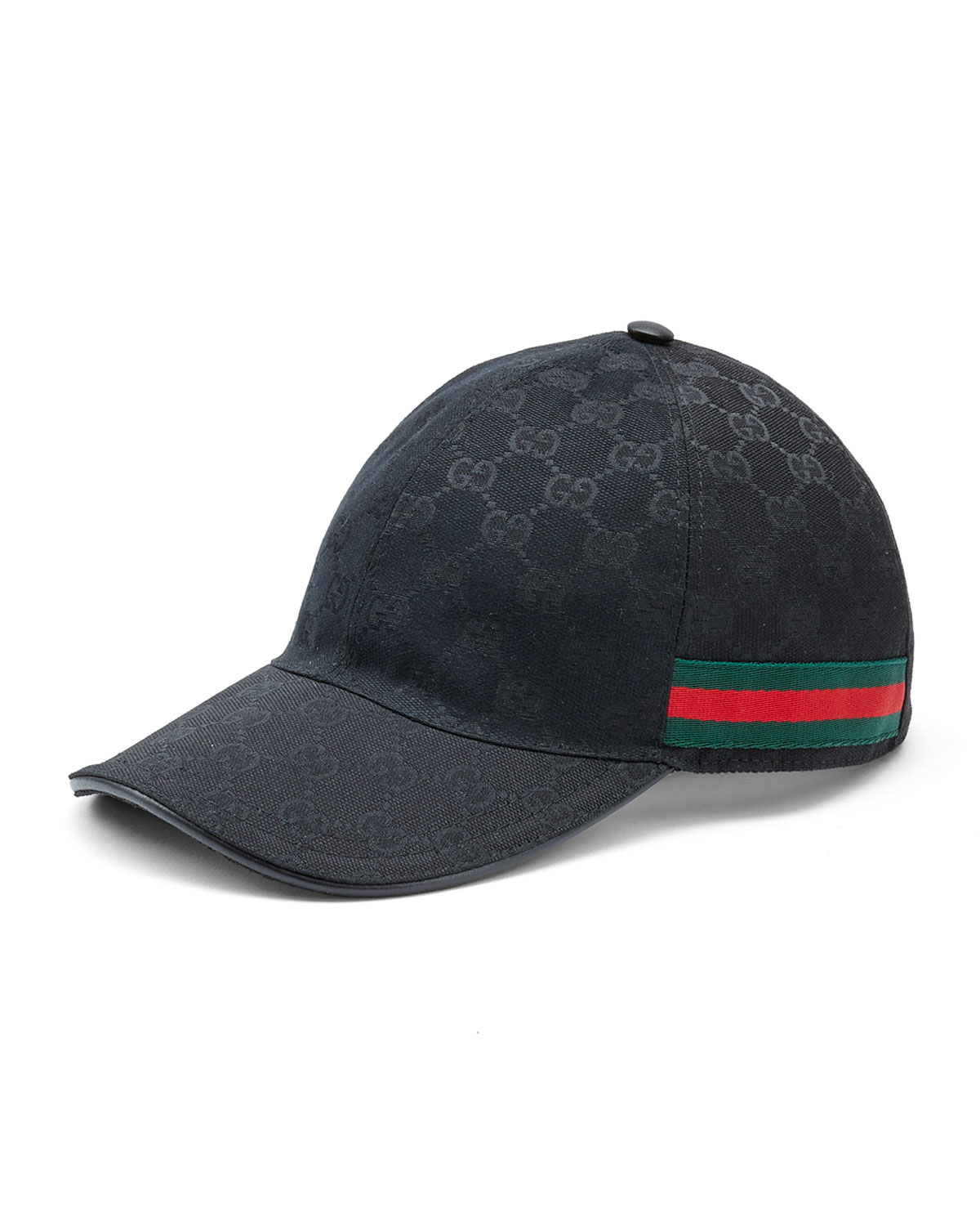 Lyst Gucci Canvas Baseball Hat In Black For Men