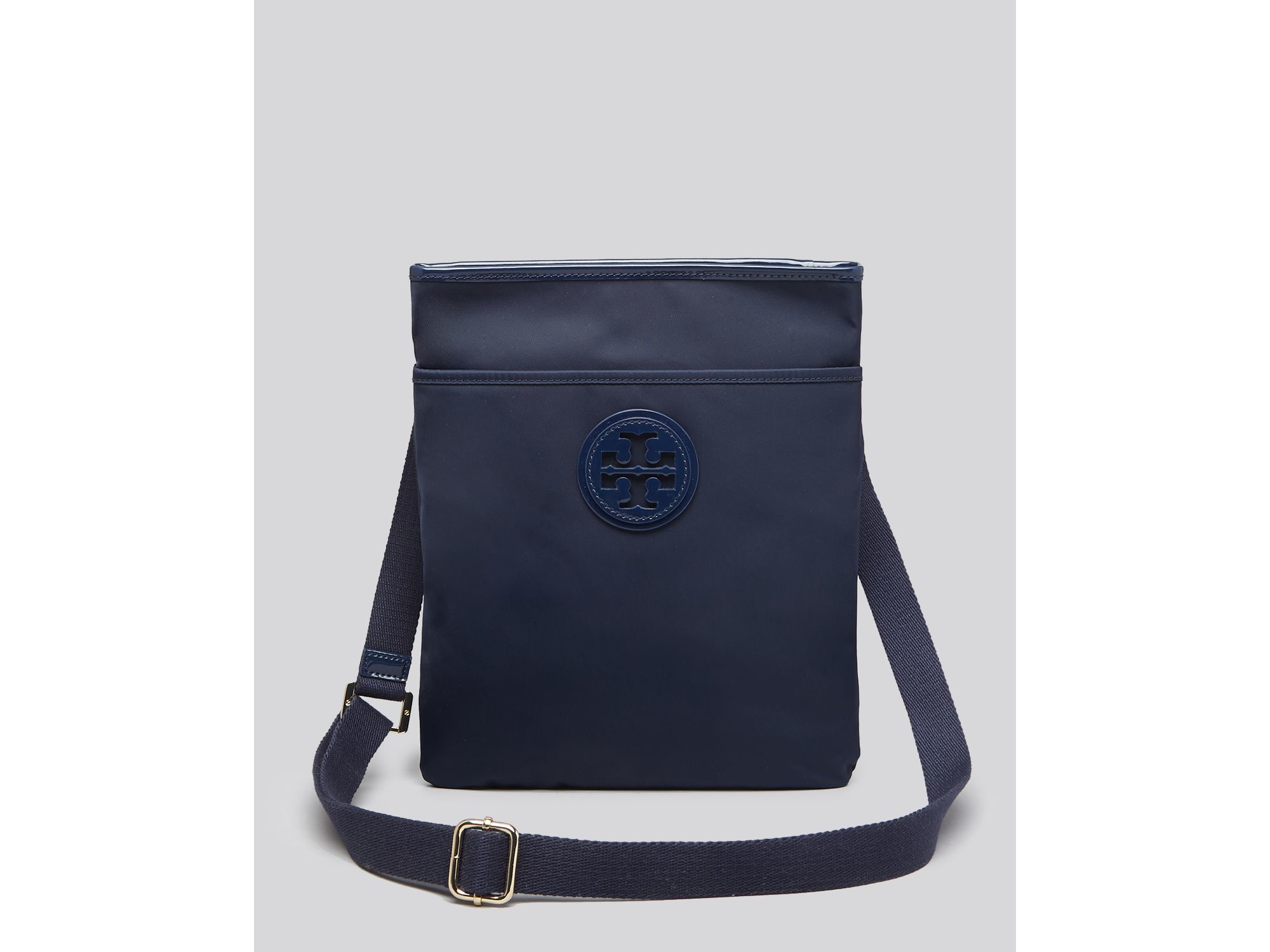 7dc92b7912b4 Tory Burch Nylon Ella Swingpack Crossbody in Blue - Lyst