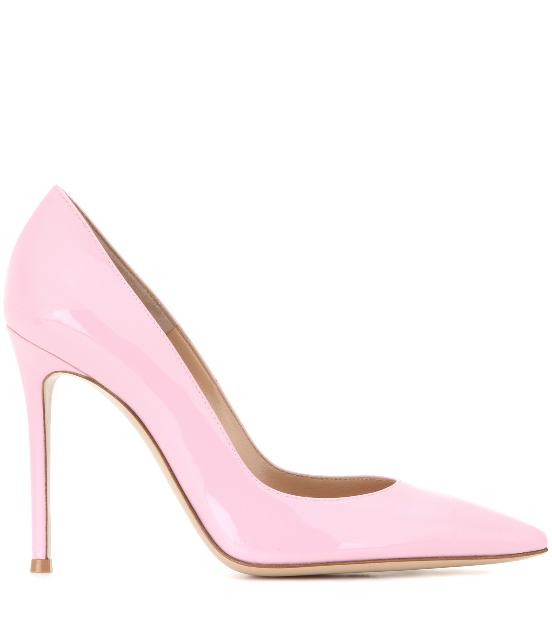 Gianvito 105 Dusty Pink Leather Pumps Gianvito Rossi 20Sg9j7j