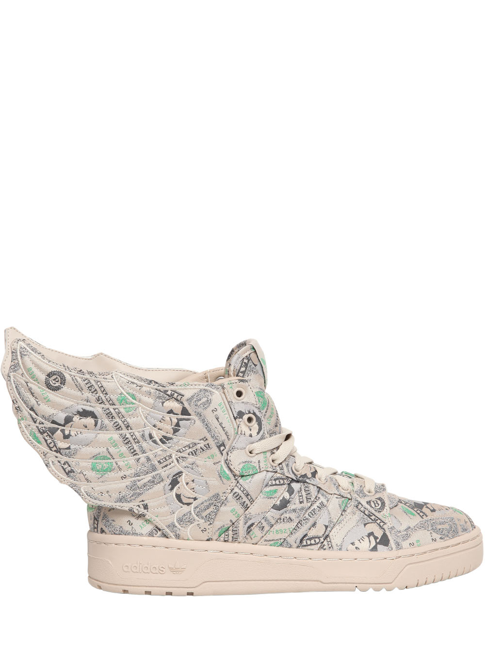 best loved 99c52 6d9fb Jeremy Scott for adidas 10th Anniversary Wings High Top Sneakers in ...