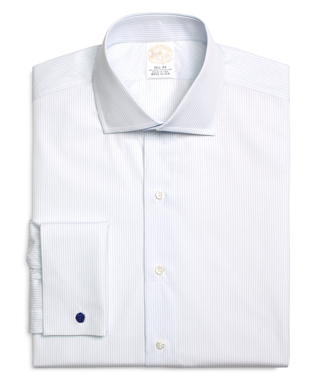 Brooks brothers golden fleece egyptian cotton slim fit for Spread collar slim fit dress shirts