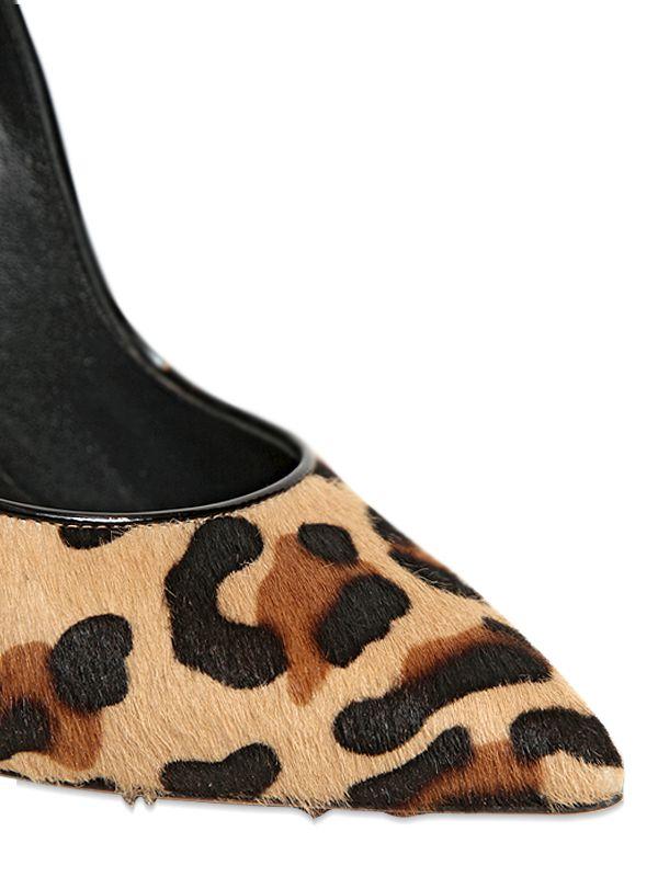 Casadei 115Mm Ponyskin Leopard Blade Pumps - Lyst d85a32cb956