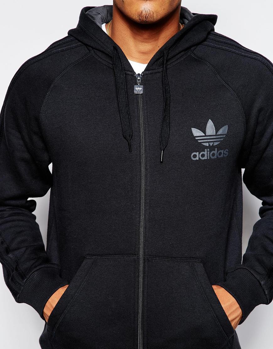 2932c2f78f931 adidas Originals Trefoil Hoodie Ab7588 in Black for Men - Lyst