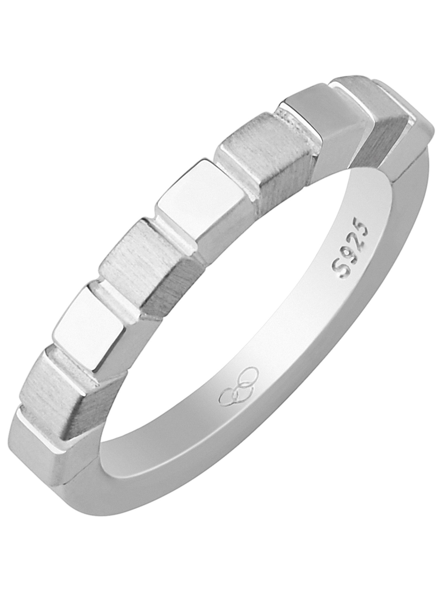 Lyst Links Of London Cubist Ring in Metallic