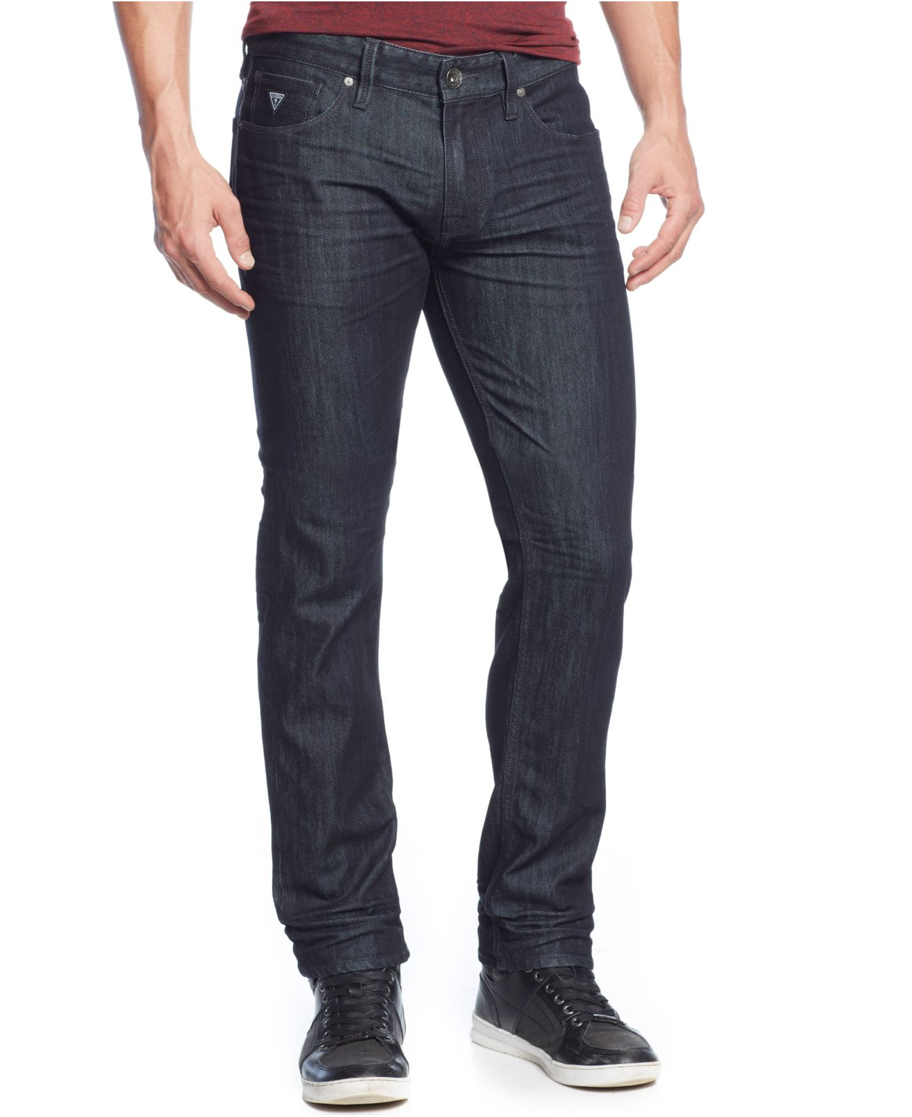 Standard Classic straight fit - comfortable from waist to hip with a straight leg opening. Austyn Roomy all around with a relaxed leg opening, for a cool, slouchy look. Brett Modern bootcut - comfortable throughout, yet slightly slimmer than the traditional bootcut.