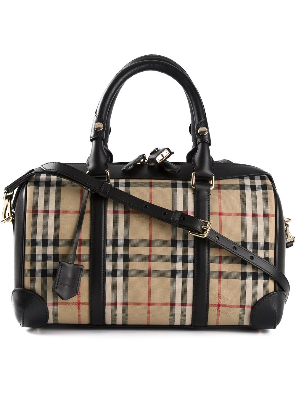 Burberry Alchester Bag in Black - Lyst dc09af18de3db