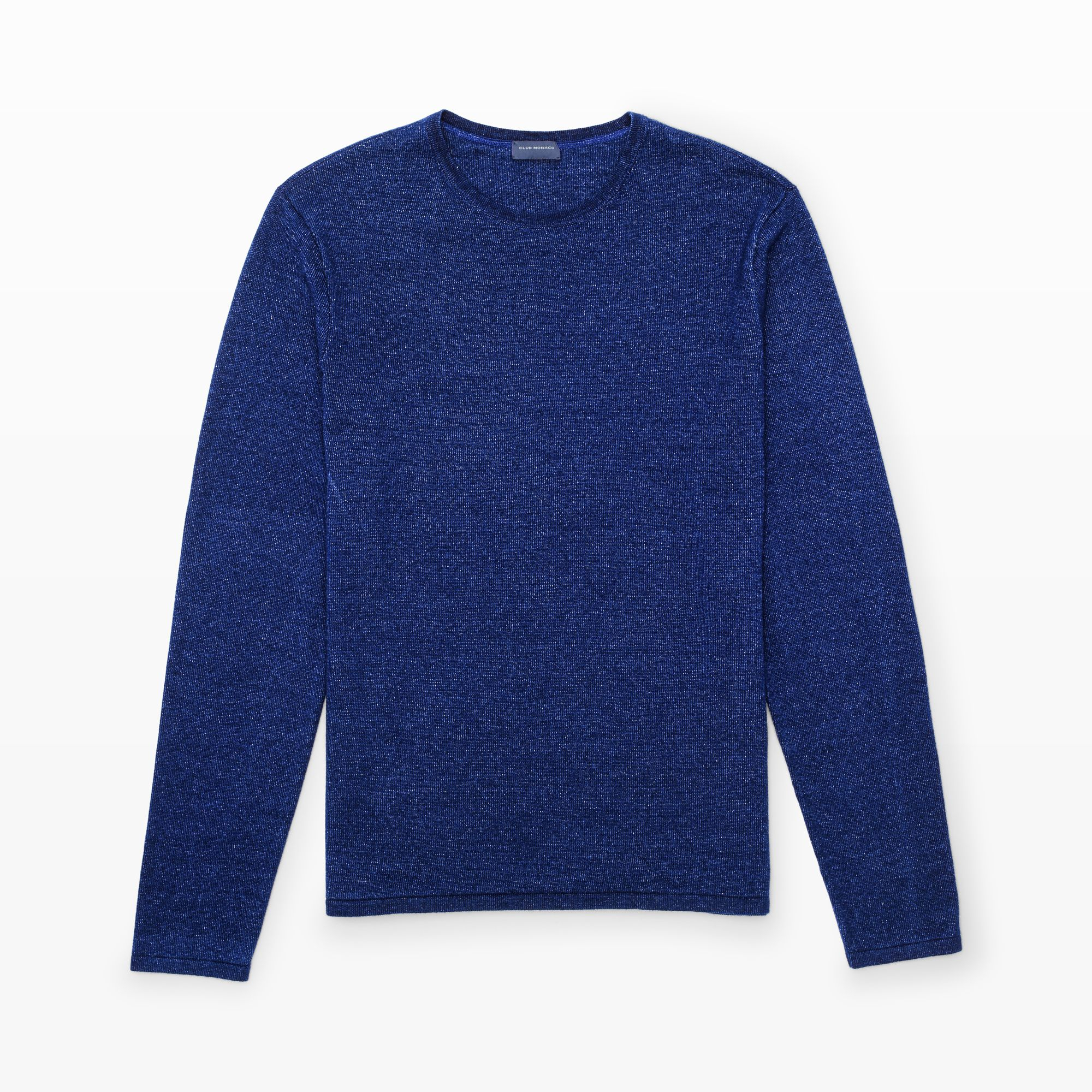 Club monaco Indigo Crewneck Sweater in Blue for Men   Lyst