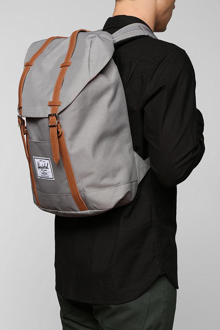 Lyst - Herschel Supply Co. Retreat Backpack in Gray 1deecb83b671e