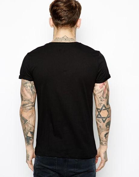 Snake Print Shirt Asos T-shirt With Snake
