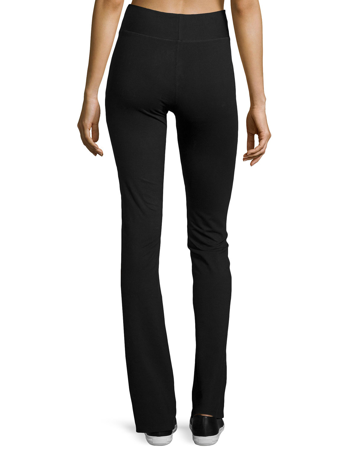Yummie by heather thomson Straight-Leg Yoga Pants in Black | Lyst