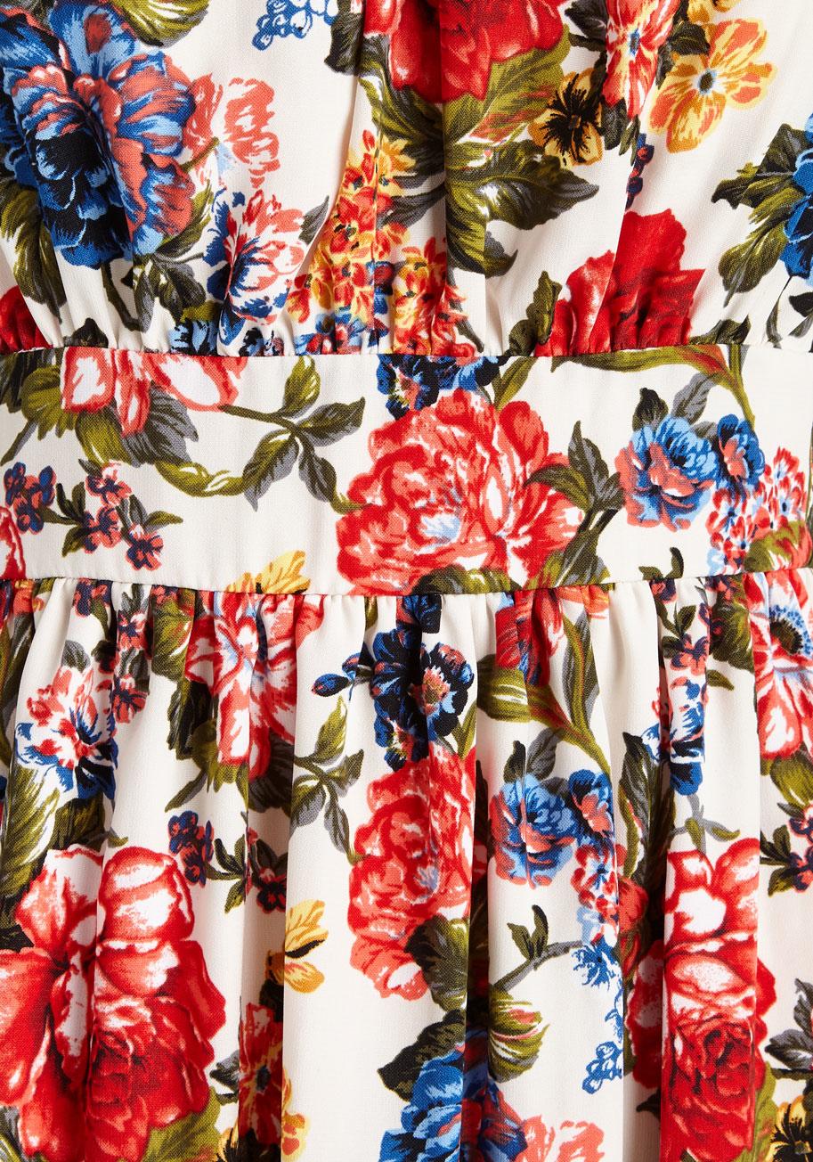 9b5ef999b5 Lyst - Yellow Star Belles In Your Courtyard Dress