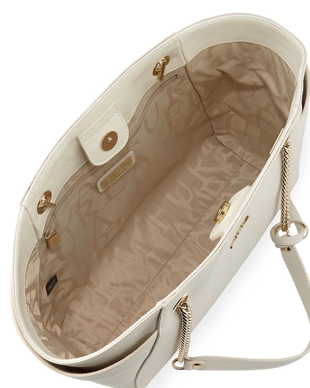 Lyst - Furla Julia Medium Leather Tote Bag in Pink 2c9e30a063ee9