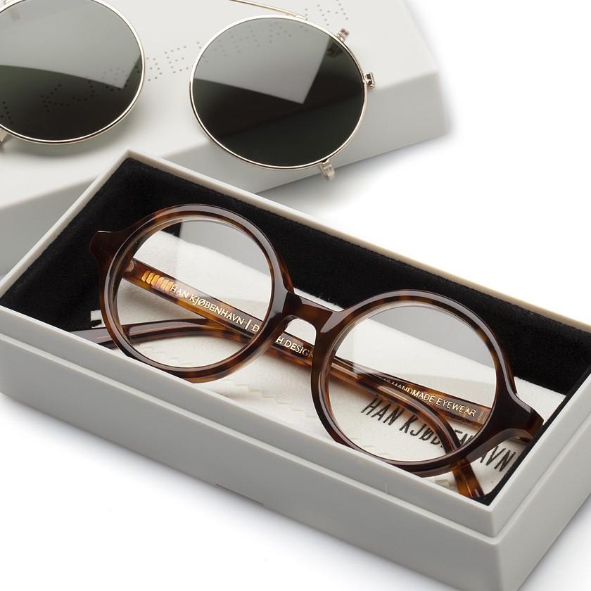 Han Sunglasses  han kjobenhavn amber doc clip on sunglasses in brown for men lyst