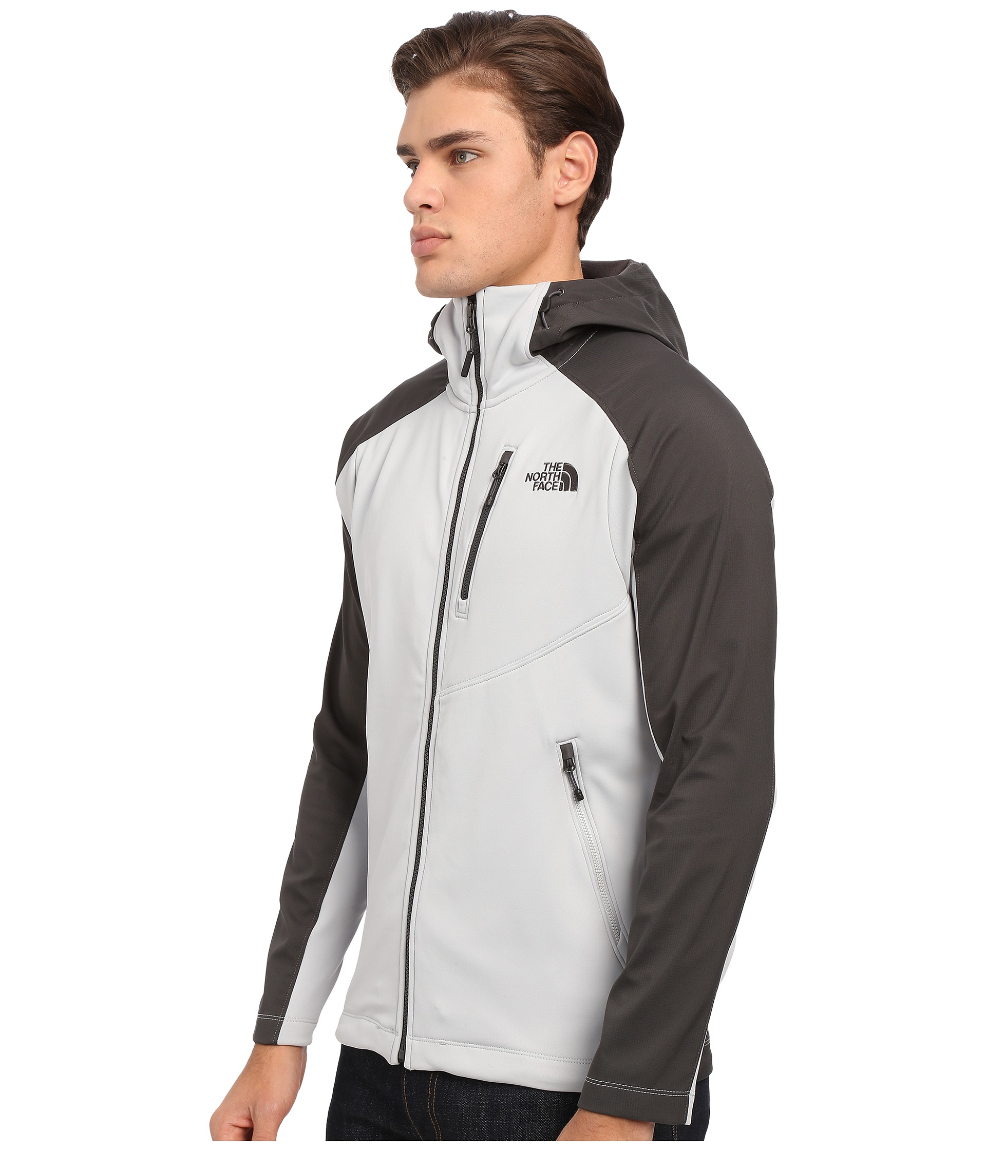 dfbf09a2174 Lyst - The North Face Tenacious Hybrid Hoodie in Black for Men