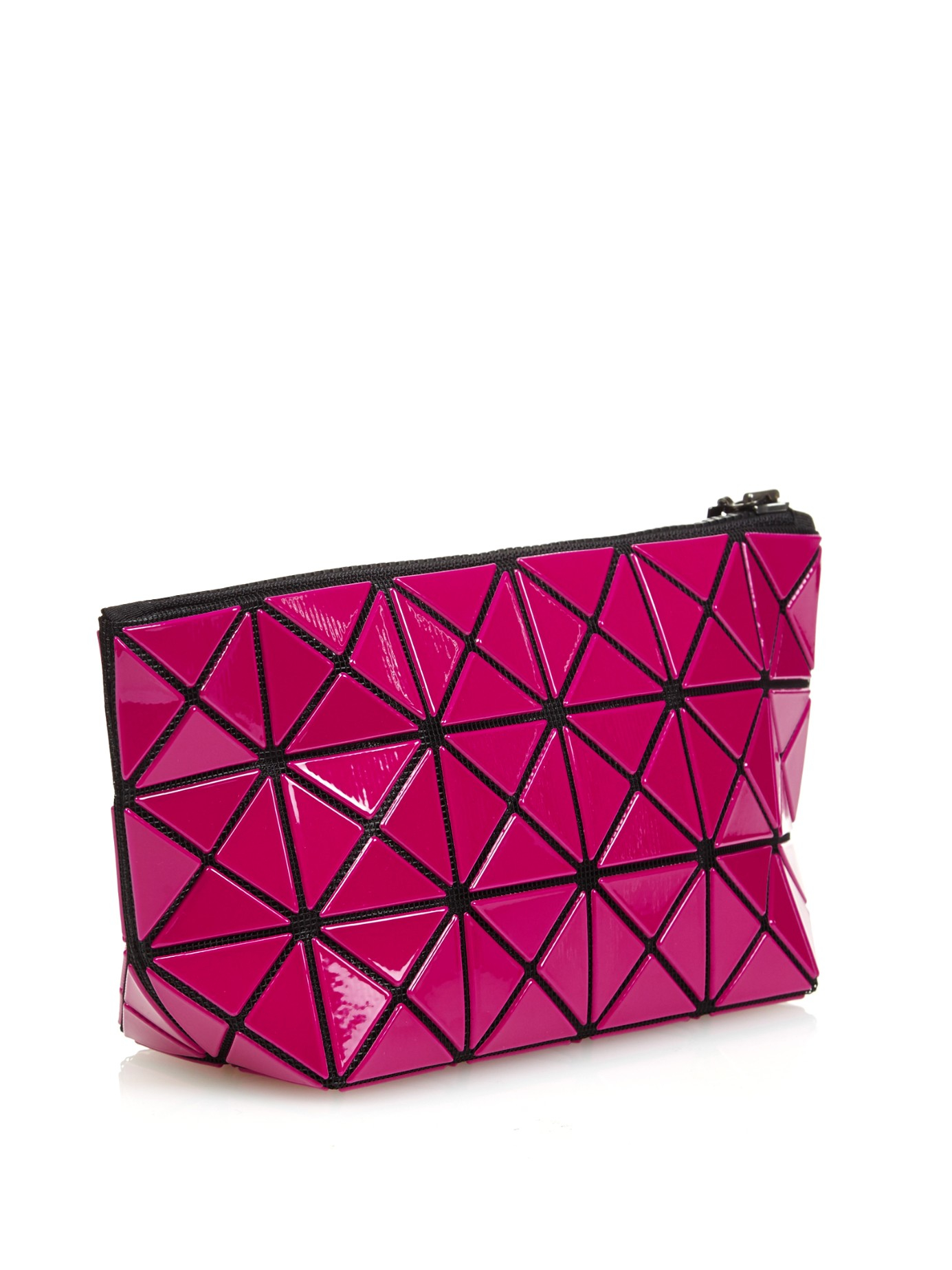 Lyst - Bao Bao Issey Miyake Lucent Basic Cosmetics Case in Pink ae7cc74cec