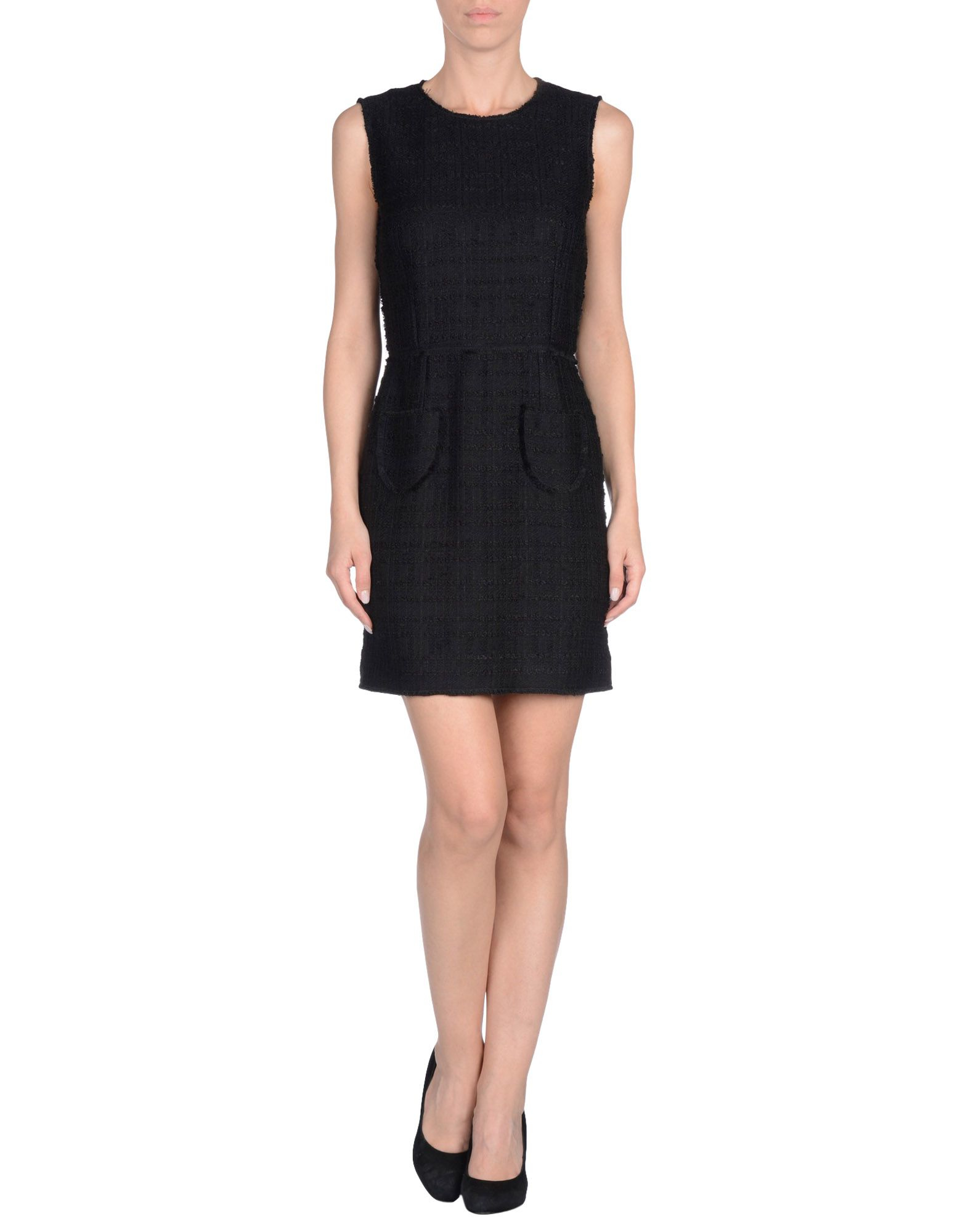 00667b18ba0 Lyst - Dolce   Gabbana Short Dress in Black
