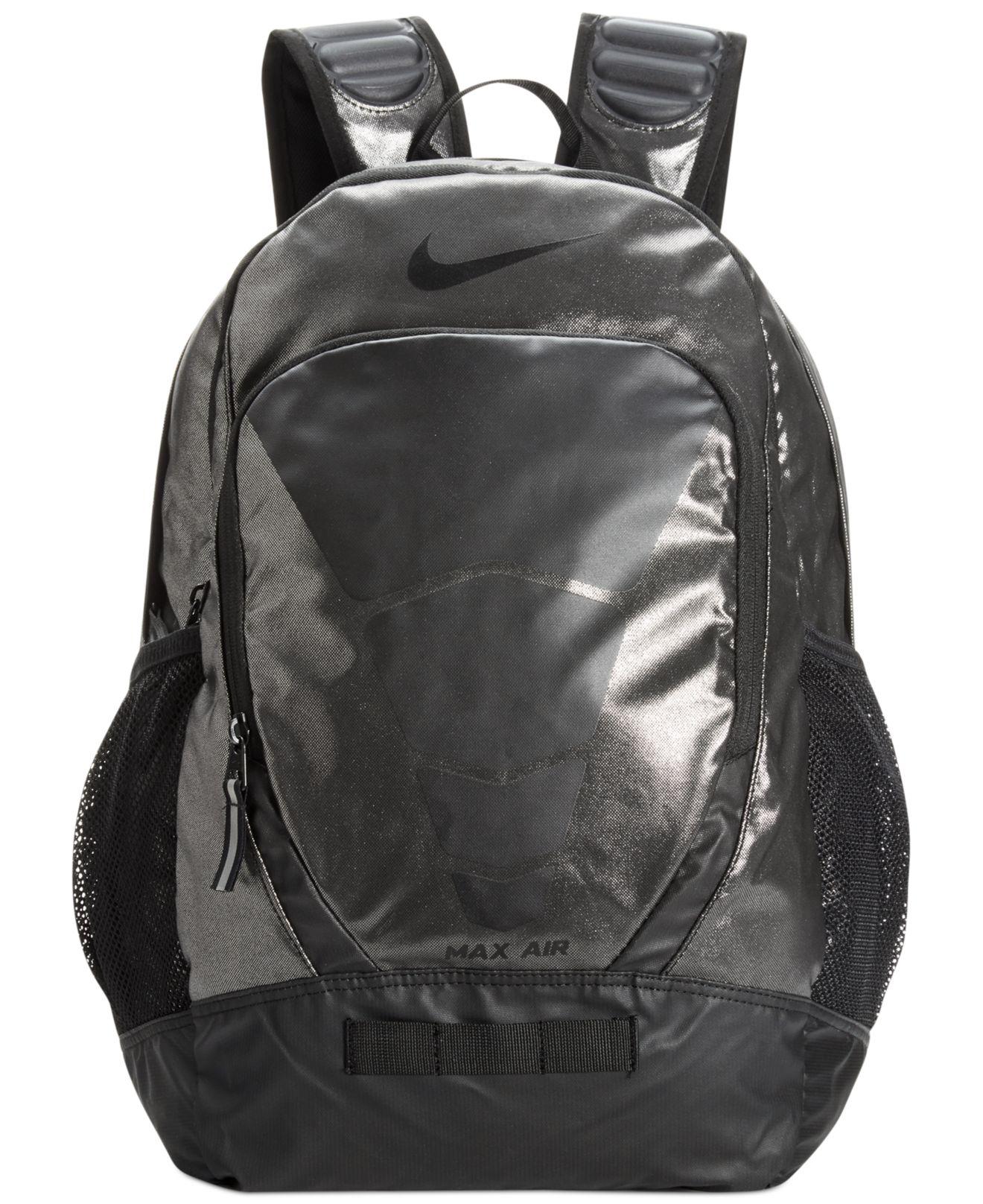 84b9ca2d2158 Lyst Nike Max Air Vapor Metallic Backpack In Black For Men
