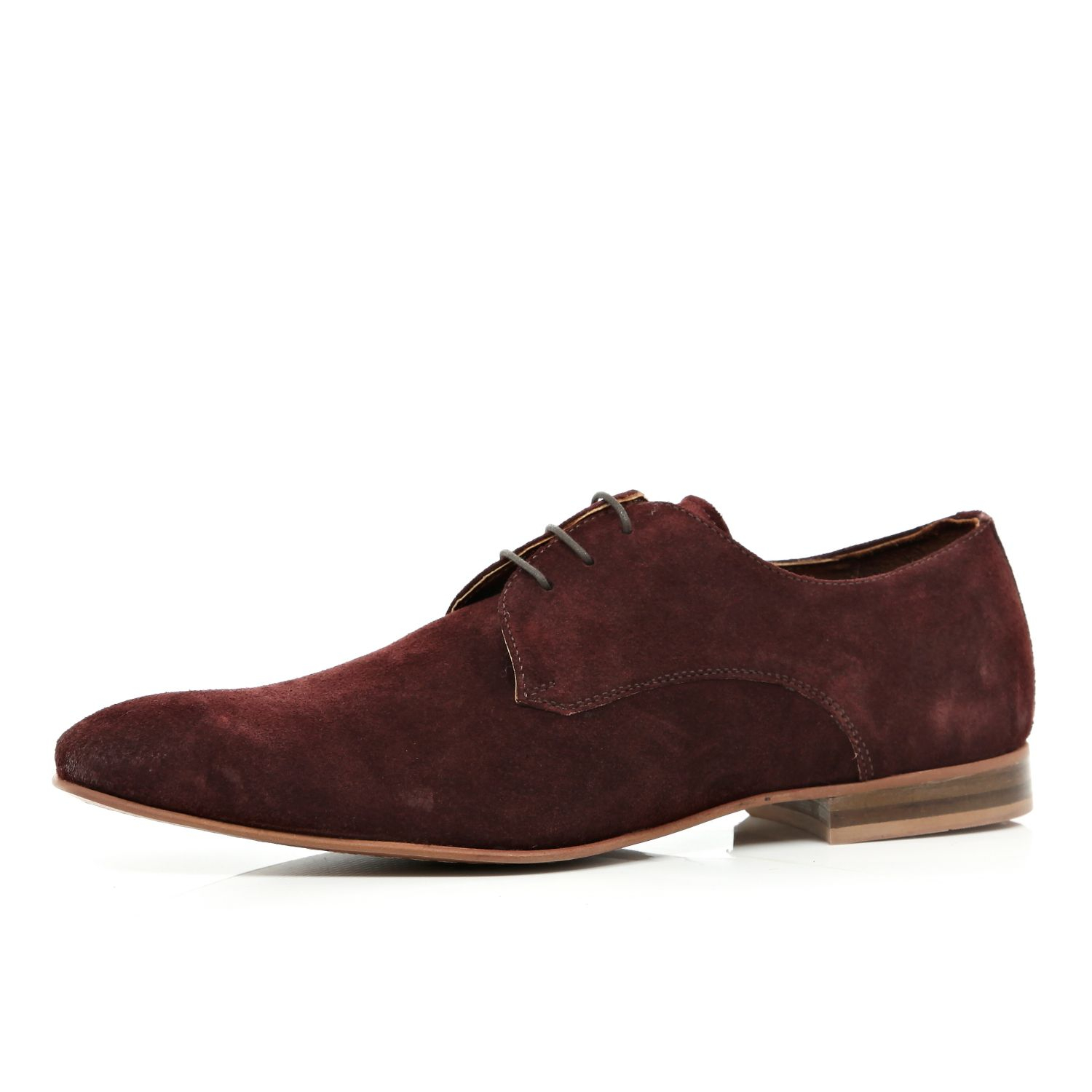 river island suede formal shoes in for lyst