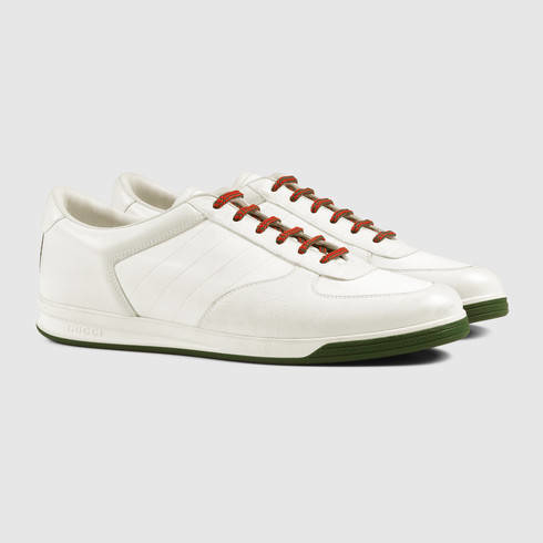 8e58bdc5155 Lyst - Gucci 1984 Leather Low-top Sneaker in White for Men