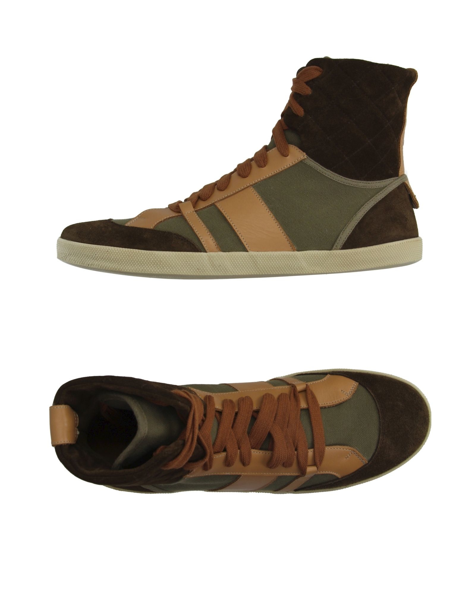 chlo high tops trainers in khaki lyst. Black Bedroom Furniture Sets. Home Design Ideas