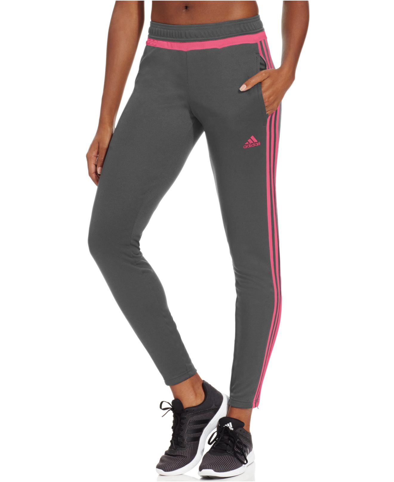 Adidas Originals Tiro 15 Climacool Training Pants In Gray