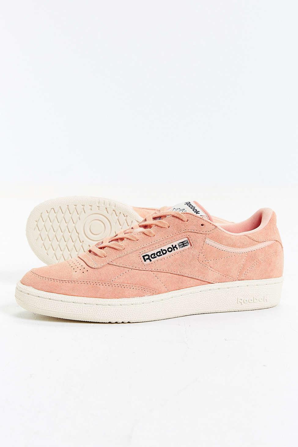912125d813e6 Lyst - Reebok Club C 85 Pastel Sneaker in Pink for Men