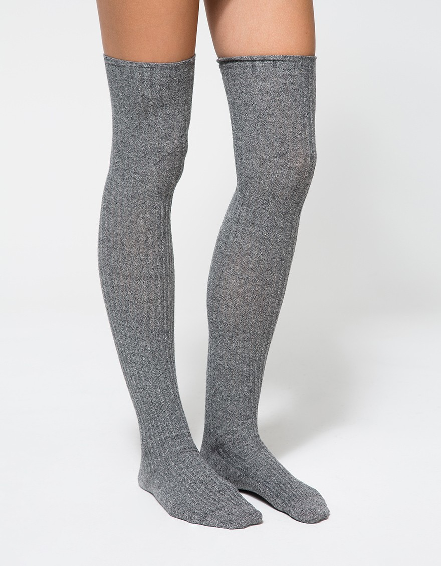 Bestselling New Women Girls Textured Lace Patchwork Thigh High Socks Over Knee Leg Warm Socks. Sold by Bestselling. $ $ FREE PEOPLE Womens Ribbed Metallic Over-the-Knee Socks. Sold by BHFO. $ Leg Avenue Women's Pointelle Over The Knee Scrunch Socks, Grey, One Size. Sold by Sears.
