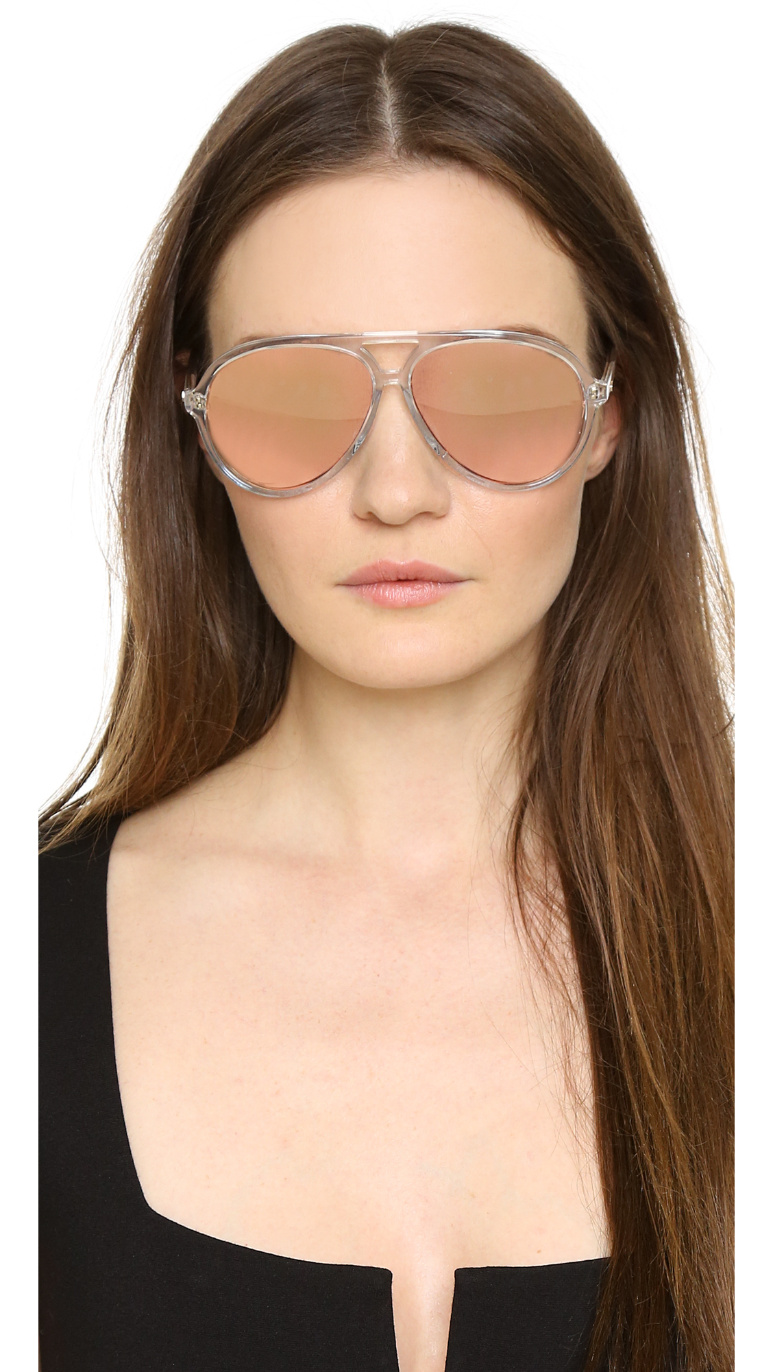 Matthew Williamson Aviator gradient sunglasses SOE4rXxrb