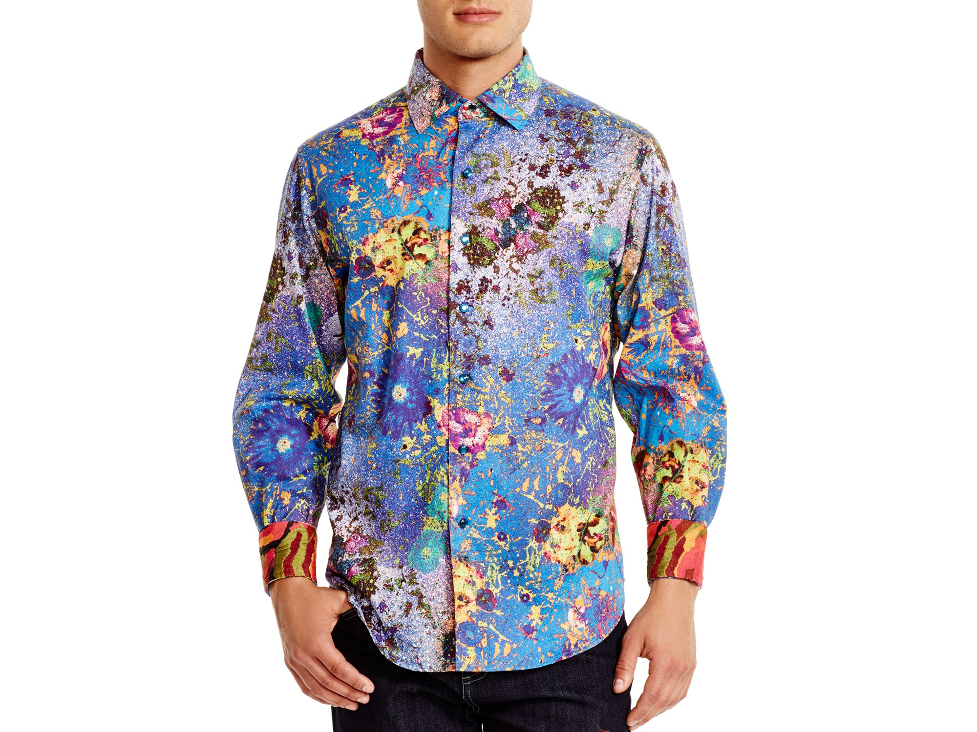 Lyst Robert Graham Limited Edition Embroidered Classic