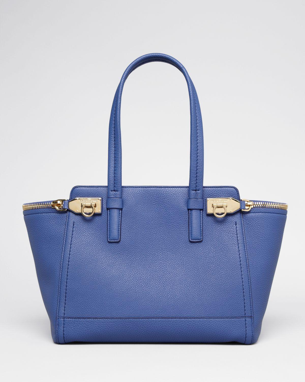 5254d56cb7 Lyst - Ferragamo Tote - Verve Medium in Blue