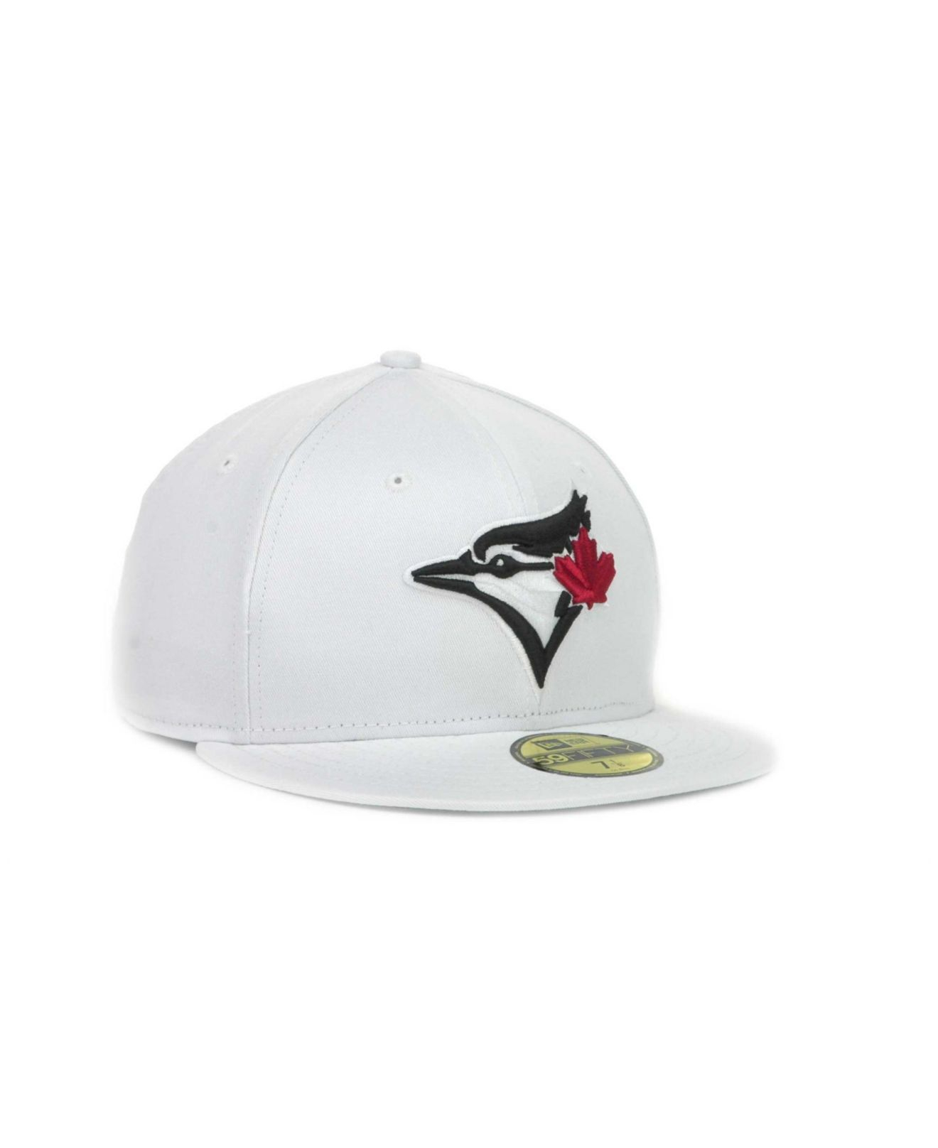 new products 0b2fb 2161f ... where to buy lyst ktz toronto blue jays mlb white and black 59fifty cap  in 42308