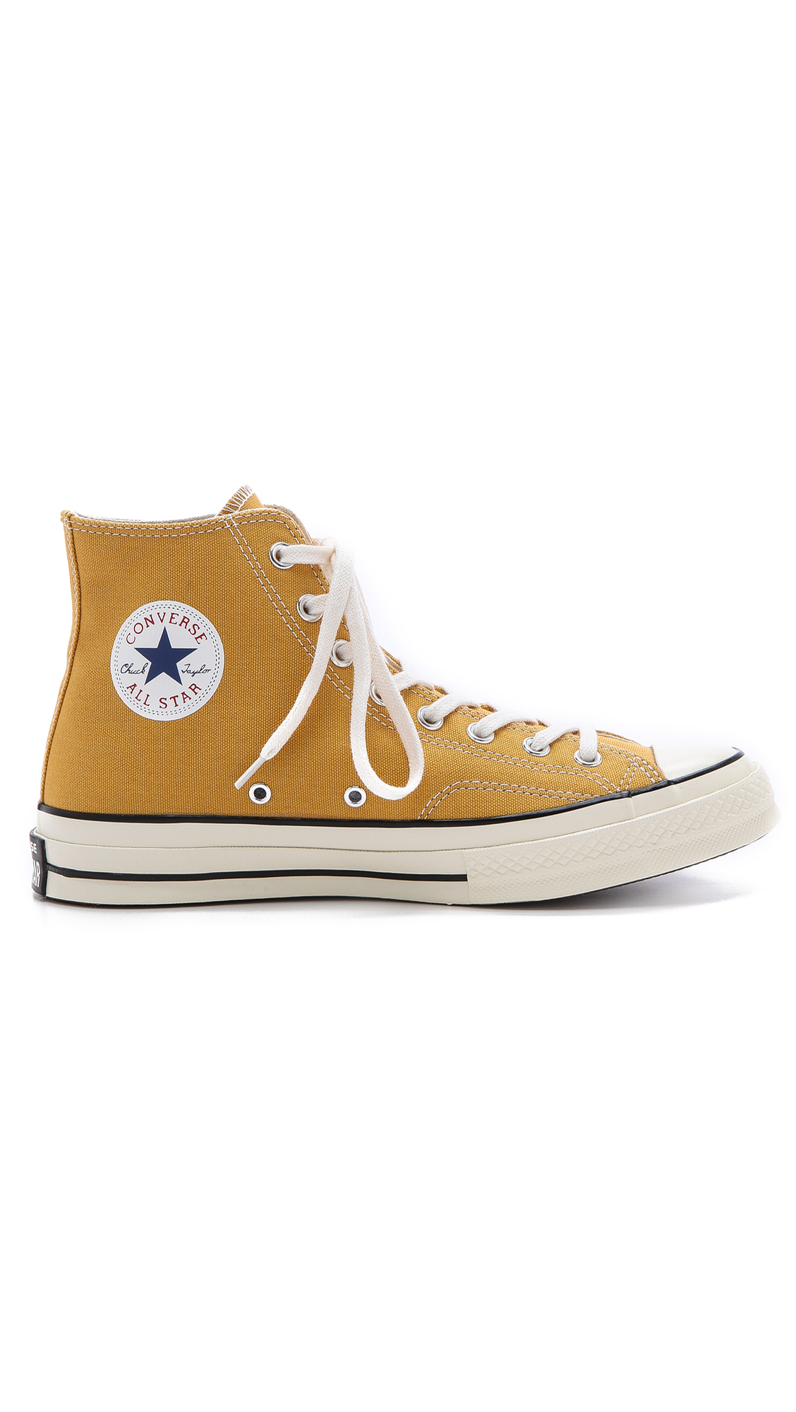 Lyst Converse All Star 70s High Top Sneakers In Yellow