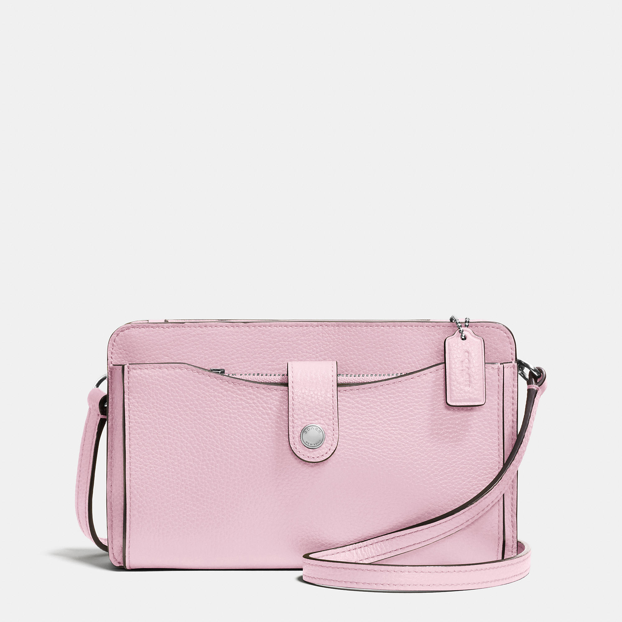 f44acc1afd ... where can i buy lyst coach messenger with pop up pouch in pebble leather  in pink