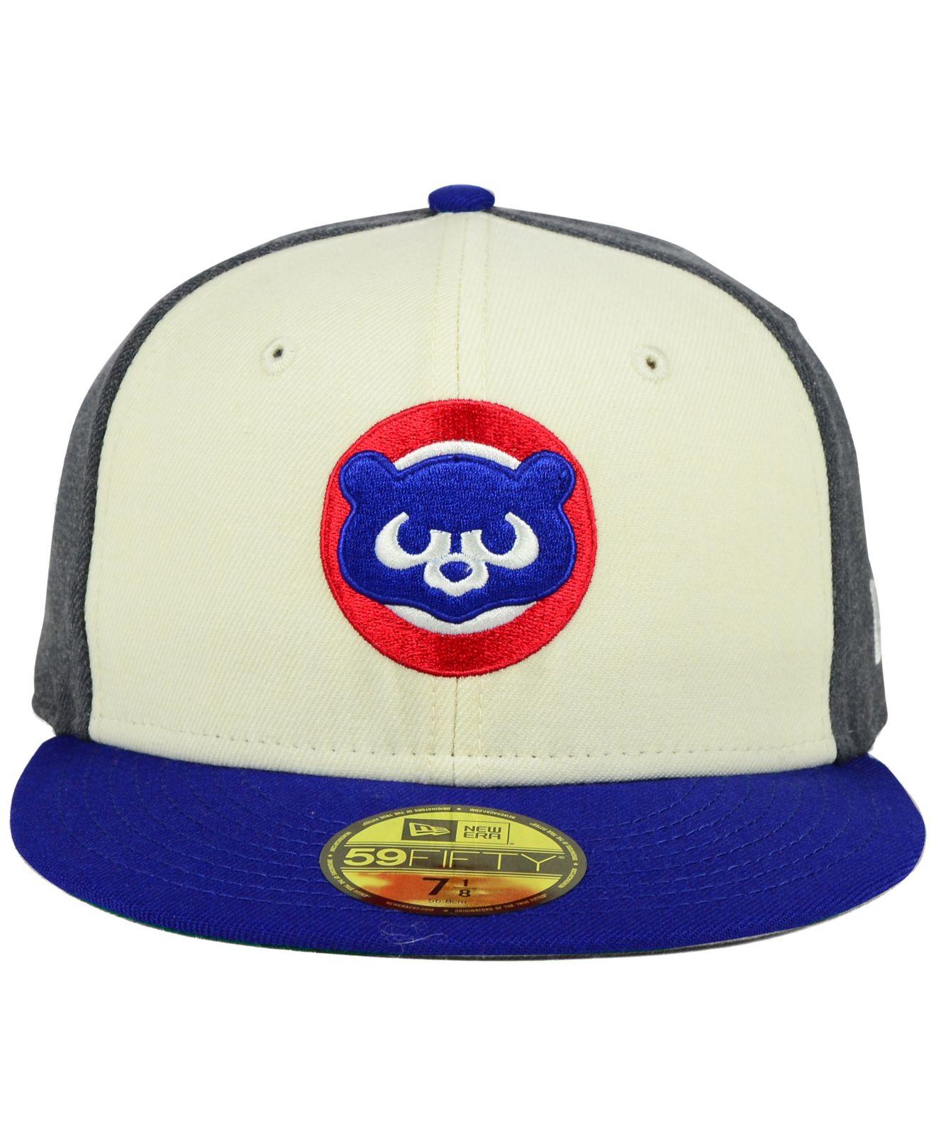 fad8ad40551 Lyst - KTZ Chicago Cubs Classic Coop 59fifty Cap for Men