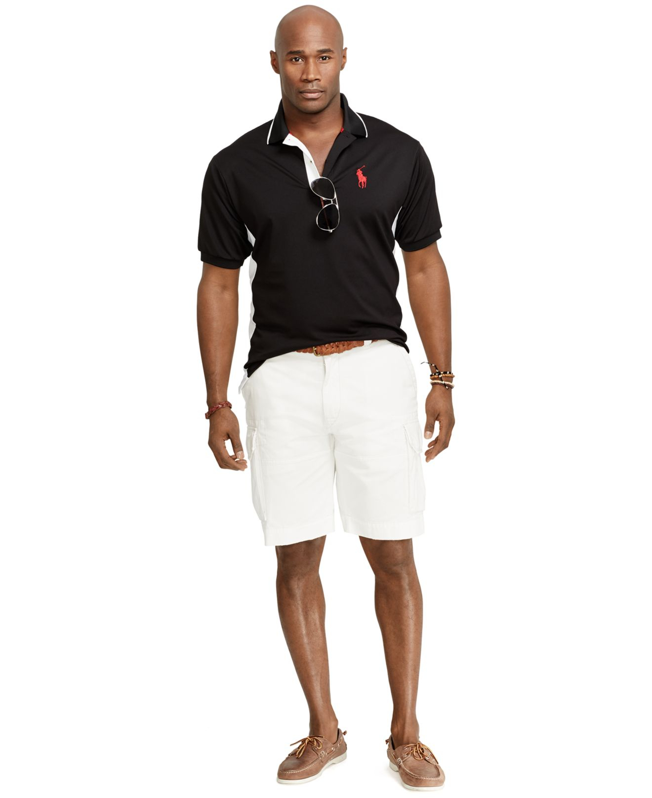 Polo Ralph Lauren Big And Tall Color Blocked Performance