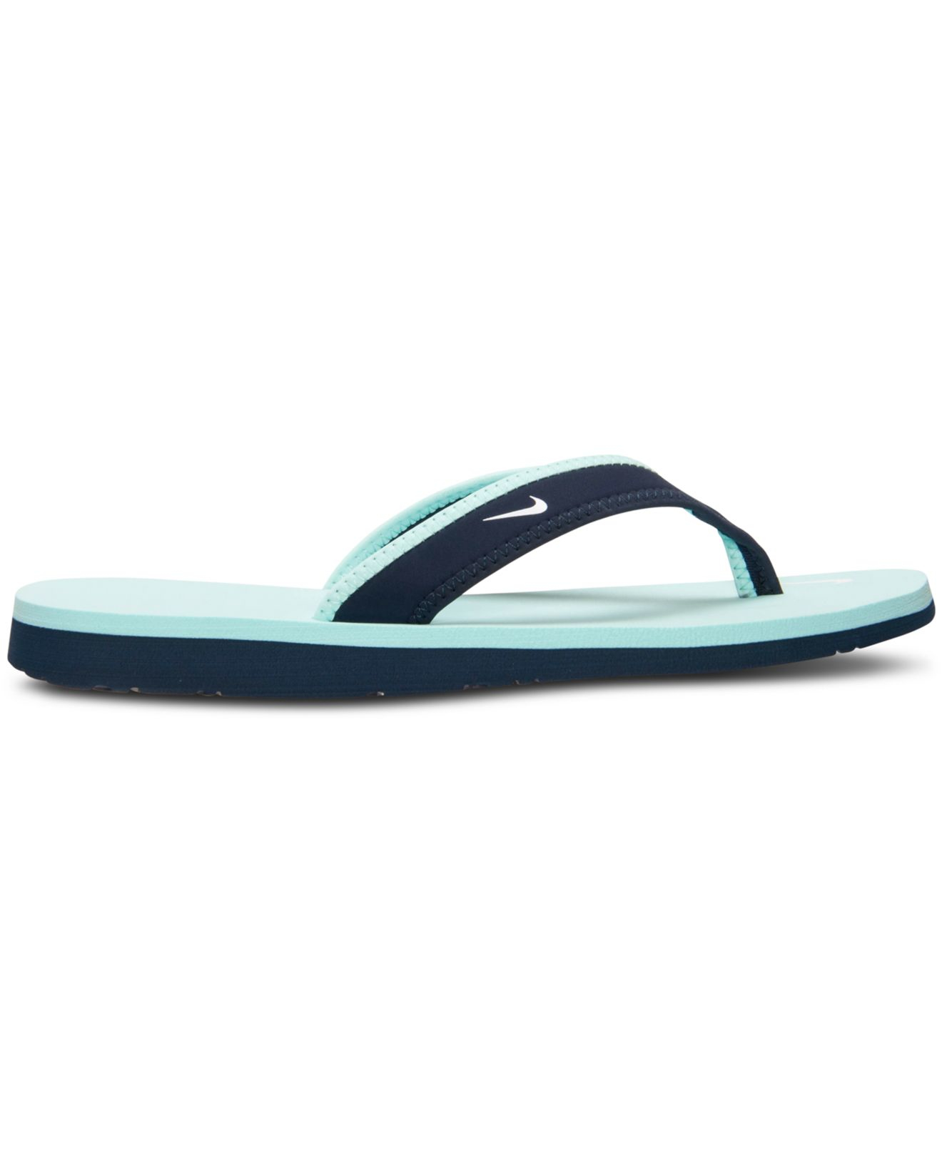 e20c87872558 Lyst - Nike Women S Celso Girl Thong Sandals From Finish Line in Green