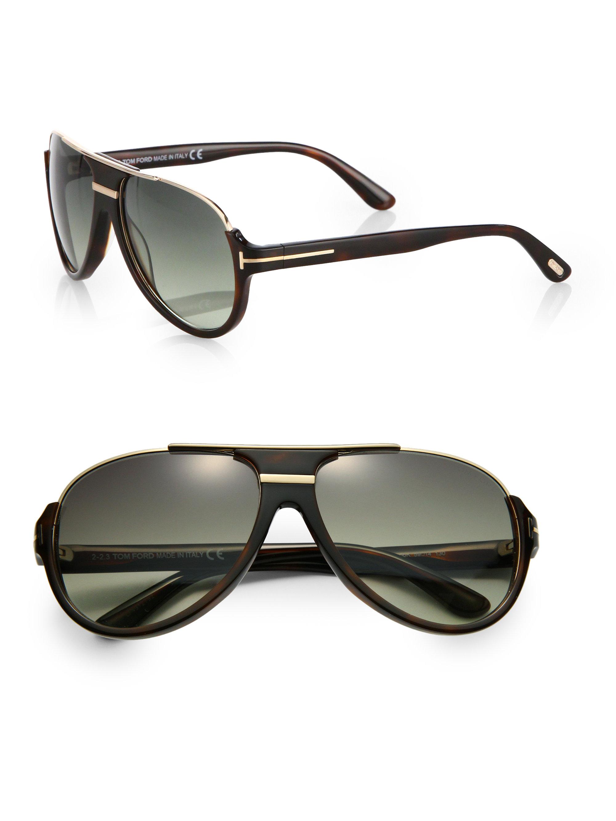 4609c67833 Tom Ford Sunglasses Mens Aviators