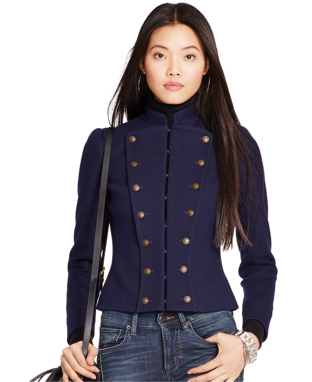 Navy Blue Military Jacket Womens - Best Picture Of Blue Imageve.Org a361d0ffc02