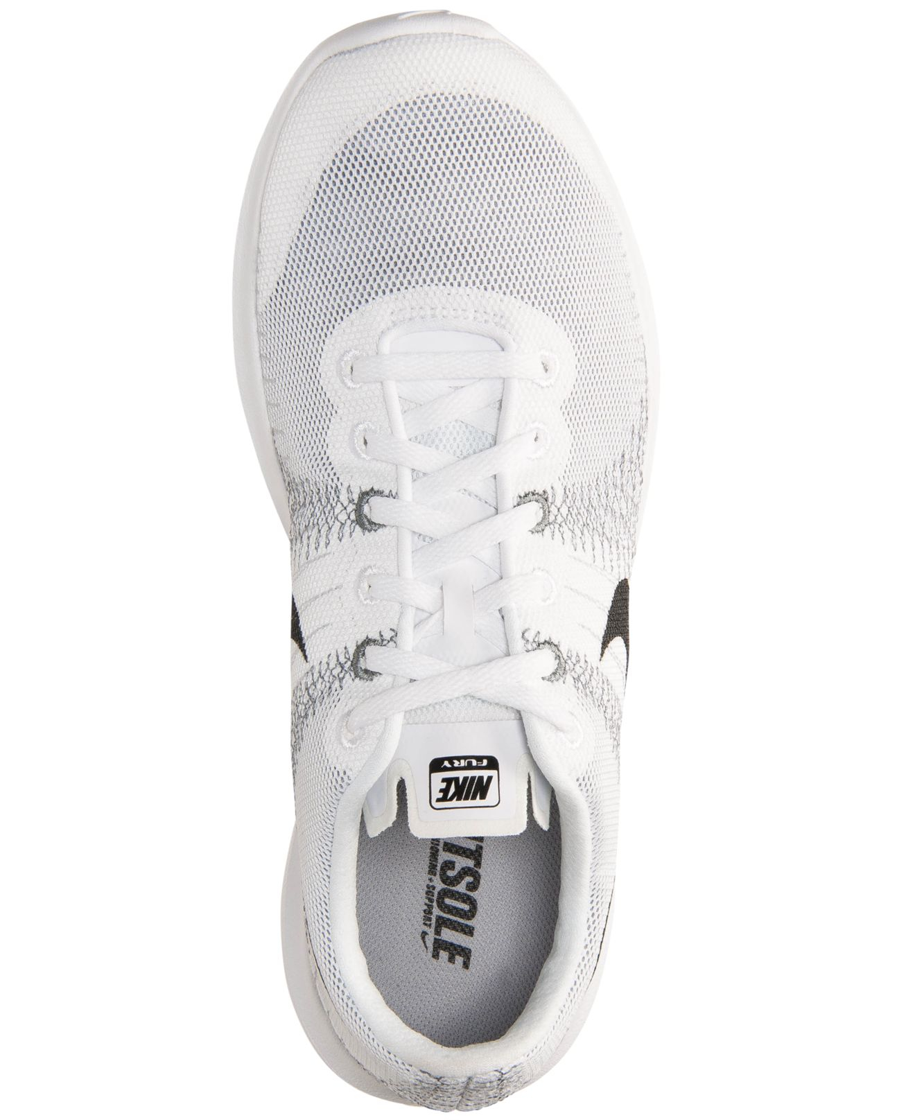 low price 134d5 24e98 ... clearance lyst nike mens flex fury running sneakers from finish line in  dbc07 7fb77